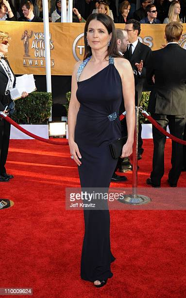 Actress Julia Ormond arrives at the 15th Annual Screen Actors Guild Awards held at the Shrine Auditorium on January 25 2009 in Los Angeles California