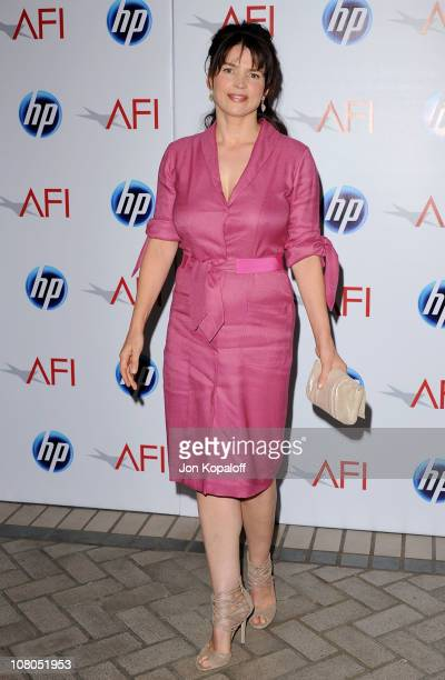 Actress Julia Ormond arrives at the 2011 AFI Awards at The Four Seasons Hotel on January 14, 2011 in Beverly Hills, California.