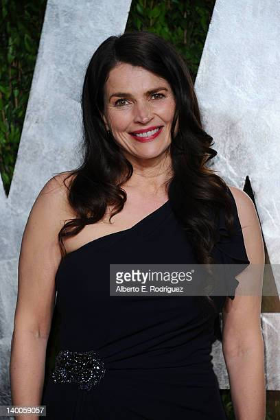 Actress Julia Ormond arrives at the 2012 Vanity Fair Oscar Party hosted by Graydon Carter at Sunset Tower on February 26 2012 in West Hollywood...