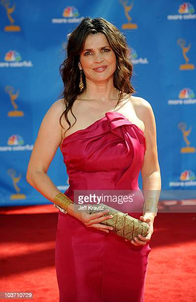 Actress Julia Ormond arrives at the 62nd Annual Primetime Emmy Awards held at the Nokia Theatre LA Live on August 29 2010 in Los Angeles California