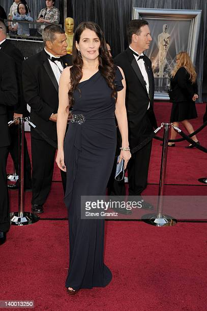 Actress Julia Ormond arrives at the 84th Annual Academy Awards held at the Hollywood Highland Center on February 26 2012 in Hollywood California