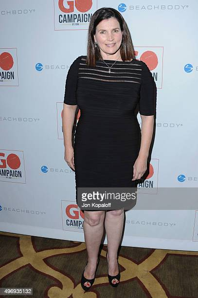 Actress Julia Ormond arrives at the 8th Annual GO Campaign Gala at Montage Beverly Hills on November 12 2015 in Beverly Hills California