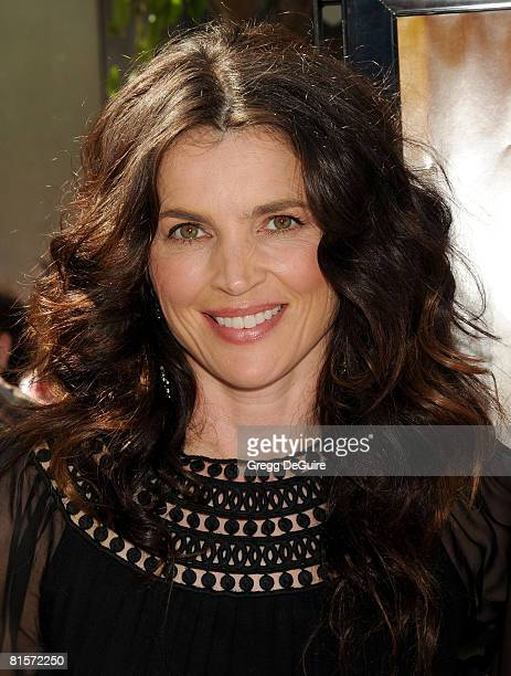 Actress Julia Ormond arrives at the Kit Kittredge An American Girl World Premiere on June 14 2008 at The Grove in Los Angeles California