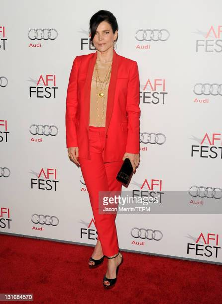 Actress Julia Ormond arrives at the My Week With Marilyn special screening during AFI FEST 2011 presented by Audi at Grauman's Chinese Theatre on...