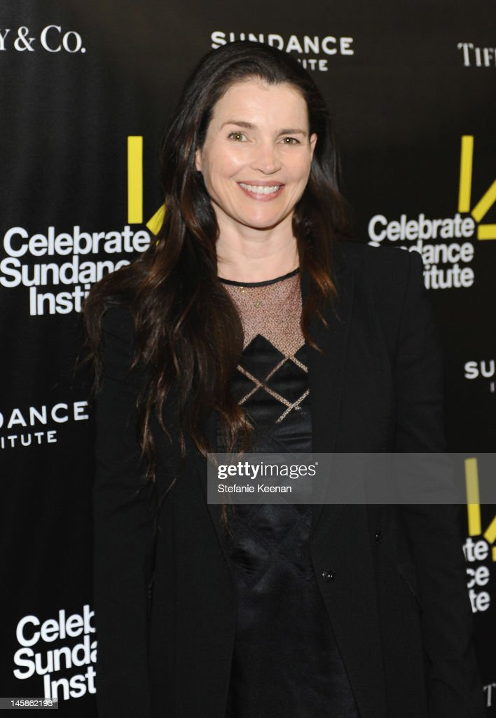 Actress Julia Ormond arrives at the Sundance Institute Benefit presented by Tiffany & Co. in Los Angeles held at Soho House on June 6, 2012 in West Hollywood, California.