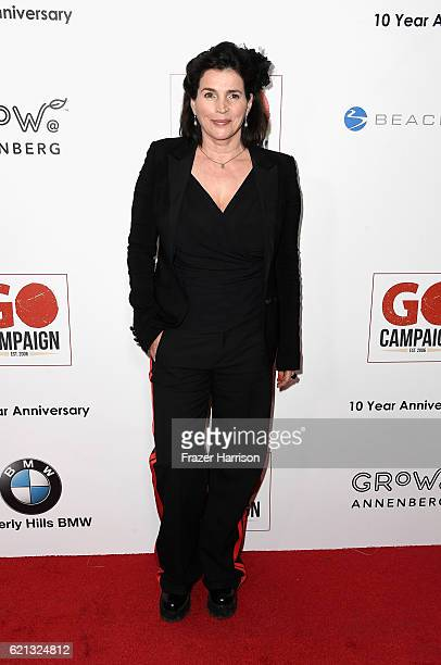 Actress Julia Ormond arrives at the10th Annual GO Campaign Gala at Manuela on November 5 2016 in Los Angeles California