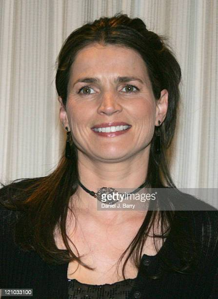 Actress Julia Ormond at the 2005 United Nations Correspondents Association dinner honoring excellence in journalism December 2 2005 in New York City