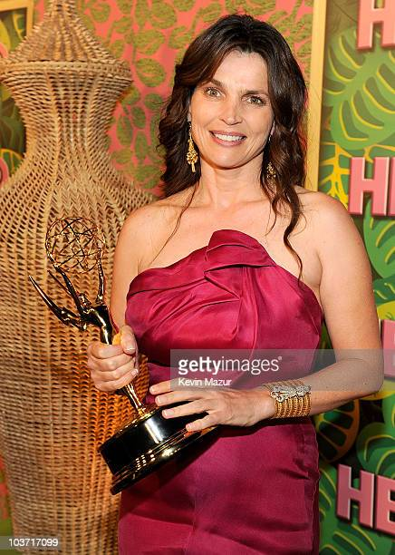 Actress Julia Ormond attends HBO after party for the 62nd Primetime Emmy Awards at Pacific Design Center on August 29 2010 in West Hollywood...