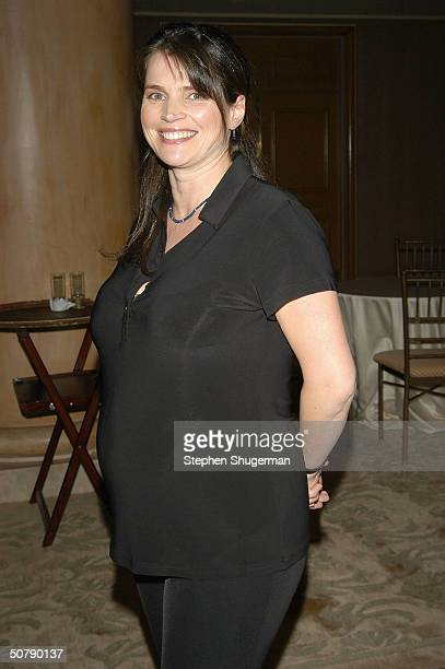 Actress Julia Ormond attends Senator Barbara Boxer's Women Making History Honors Annette Bening at the St Regis Hotel on April 30 2004 in Century...
