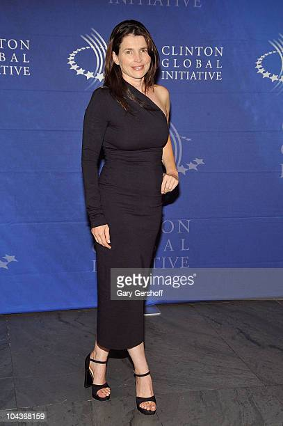 Actress Julia Ormond attends the 2010 Clinton Global Initiative reception at The Museum of Modern Art on September 22 2010 in New York City