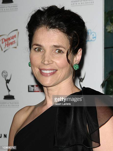 Actress Julia Ormond attends the 62nd primetime Emmy Awards performers nominee reception at Pacific Design Center on August 27 2010 in West Hollywood...