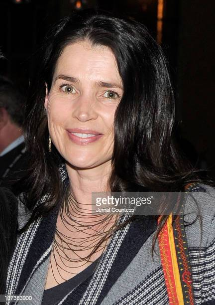 Actress Julia Ormond attends the Artist at the Table Dinner and Discussion held at The Shop during the 2012 Sundance Film Festival on January 19 2012...