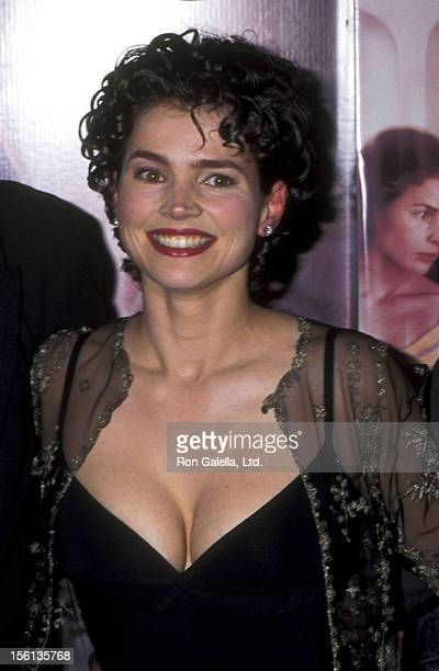 Actress Julia Ormond attends the 'First Knight' Beverly Hills Premiere on June 19, 1995 at Academy Theatre in Beverly Hills, California.