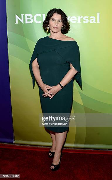 Actress Julia Ormond attends the NBCUniversal press day 2 during the 2016 Summer TCA Tour at The Beverly Hilton Hotel on August 3 2016 in Beverly...