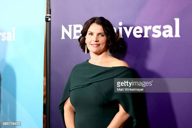 Actress Julia Ormond attends the NBCUniversal press day 2 during the 2016 Summer TCA Tour at The Beverly Hilton Hotel on August 3, 2016 in Beverly...
