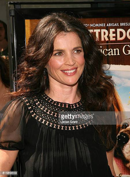 Actress Julia Ormond attends the premiere of Kit Kittredge An American Girl at The Grove on June 14 2008 in Los Angeles California