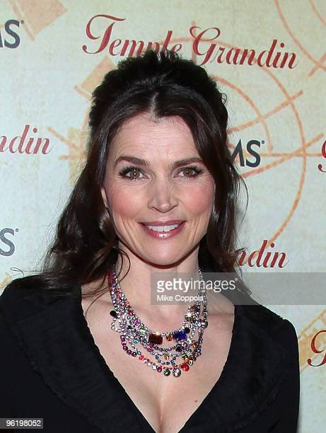 Actress Julia Ormond attends the premiere of Temple Grandin at the Time Warner Screening Room on January 26 2010 in New York City