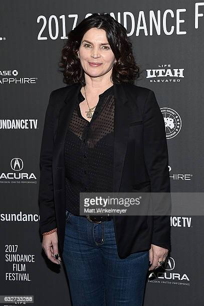 """Actress Julia Ormond attends the """"Rememory"""" Premiere on day 7 of the 2017 Sundance Film Festival at Library Center Theater on January 25, 2017 in..."""