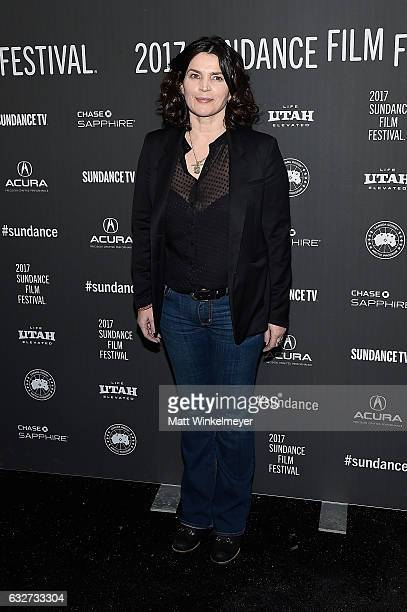 Actress Julia Ormond attends the Rememory Premiere on day 7 of the 2017 Sundance Film Festival at Library Center Theater on January 25 2017 in Park...