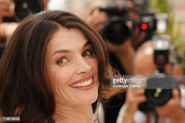 "Actress Julia Ormond attends the ""Surveillance"" photocall at the Palais des Festivals during the 61st International Cannes Film Festival on May 21,..."