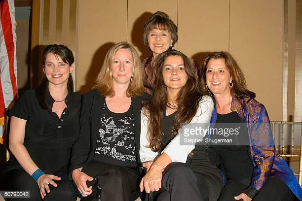 Actress Julia Ormond HBO Vice President Keri Putman Senator Barbara Boxer Director Katja von Garnier and Producer Paula Weinstein attend Senator...