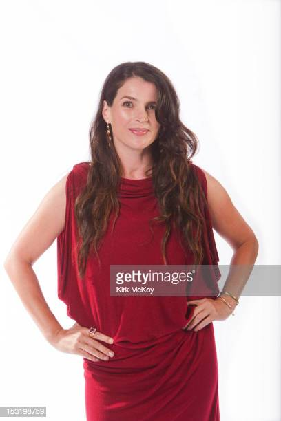 Actress Julia Ormond is photographed for Los Angeles Times on September 22, 2012 in Los Angeles, California. PUBLISHED IMAGE. CREDIT MUST BE: Kirk...