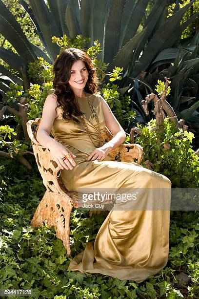 Actress Julia Ormond is photographed for OK Magazine in 2007 in Los Angeles California PUBLISHED IMAGE