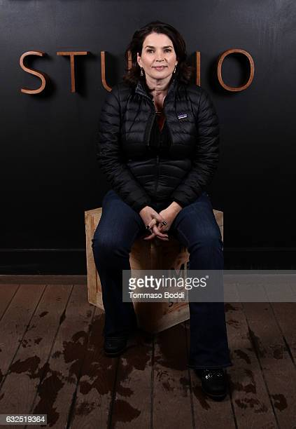 Actress Julia Ormond of 'Rememory' attends The IMDb Studio featuring the Filmmaker Discovery Lounge presented by Amazon Video Direct Day Four during...