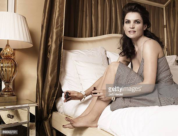 Actress Julia Ormond poses at a portrait session in Los Angeles for More Magazine Published image