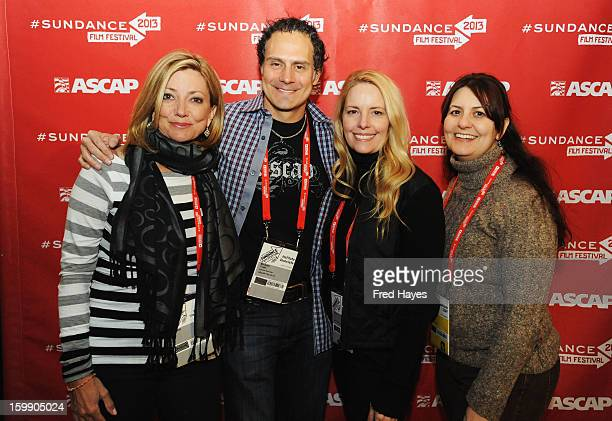 Actress Julia Parker Sr Director of Film Television Music at ASCAP Michael Todd Linda Kruse and Film Forward Manager at Sundance Institute Jacqueline...