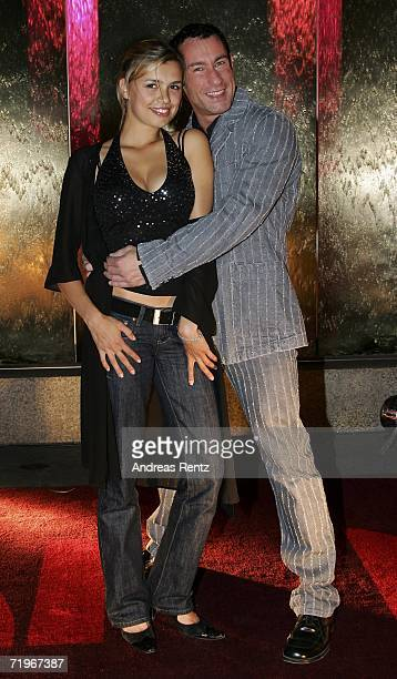 Actress Julia Philippi and Dieter Bach attend the Music Meets Media event at the Esplanade Hotel on September 21 2006 in Berlin Germany
