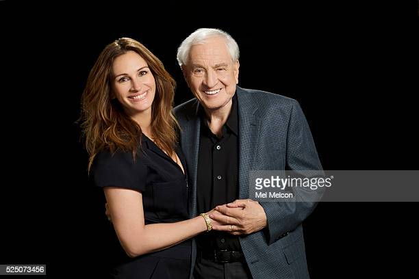 Actress Julia Roberts and director Gary Marshall are photographed for Los Angeles Times on April 8 2016 in Los Angeles California PUBLISHED IMAGE...