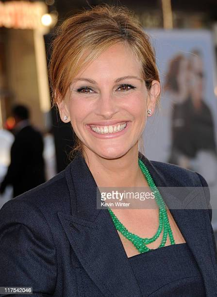 Actress Julia Roberts arrives at the Premiere of Universal Pictures' Larry Crowne at Grauman's Chinese Theatre on June 27 2011 in Hollywood California