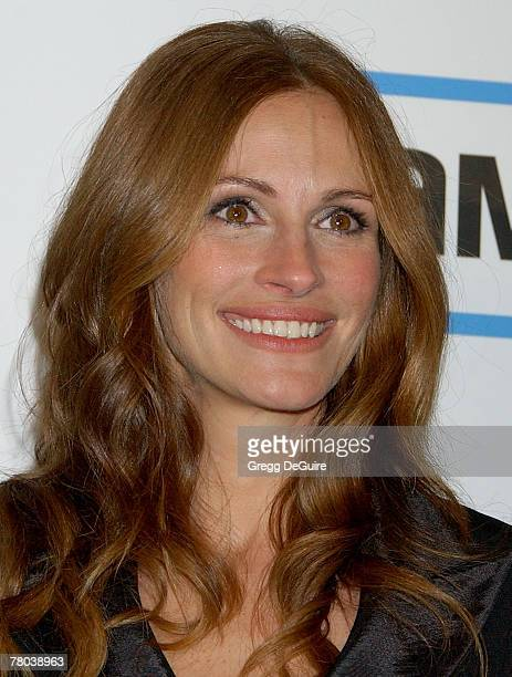 Actress Julia Roberts at The 22nd Annual American Cinematheque Award at the Beverly Hilton Hotel on October 12 2007 in Beverly Hills California