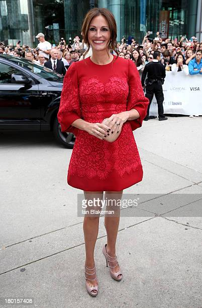 Actress Julia Roberts attends 'August Osage County' Premiere at Roy Thomson Hall on September 9 2013 in Toronto Canada