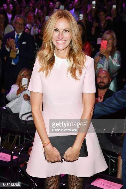 Actress Julia Roberts attends Calzedonia Legs Show on September 5 2017 in Verona Italy