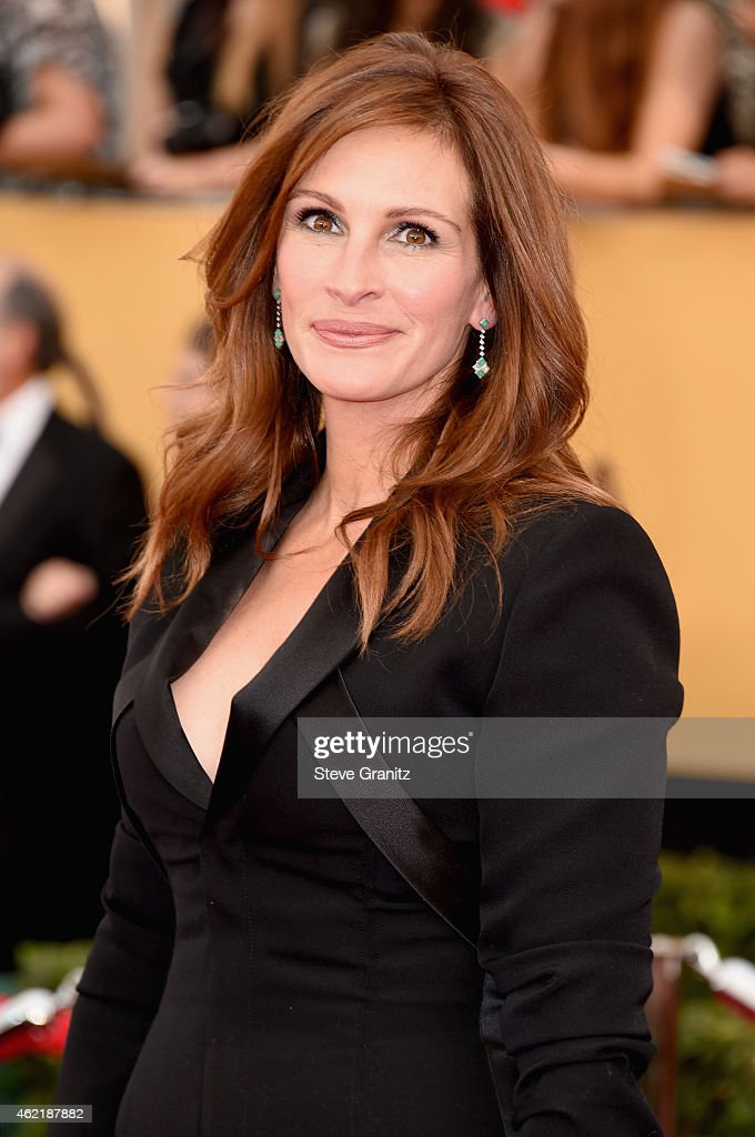 Actress Julia Roberts attends the 21st Annual Screen Actors Guild Awards at The Shrine Auditorium on January 25, 2015 in Los Angeles, California.