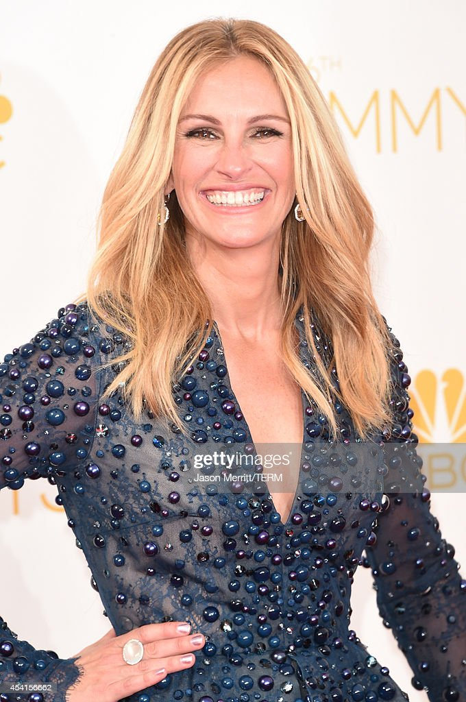 Actress Julia Roberts attends the 66th Annual Primetime Emmy Awards held at Nokia Theatre L.A. Live on August 25, 2014 in Los Angeles, California.