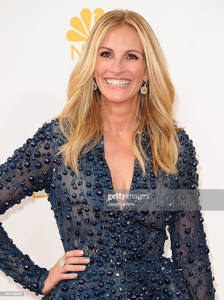 Actress Julia Roberts attends the 66th annual Primetime Emmy Awards at Nokia Theatre L.A. Live on August 25, 2014 in Los Angeles, California.