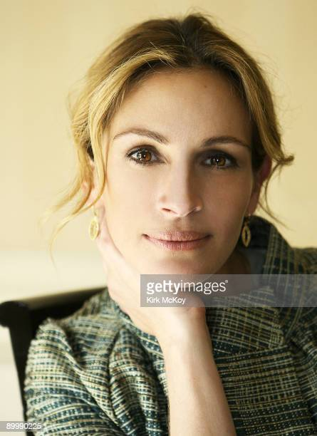 Actress Julia Roberts is photographed in Los Angeles on August 12 2008 for the Los Angeles Times PUBLISHED IMAGE