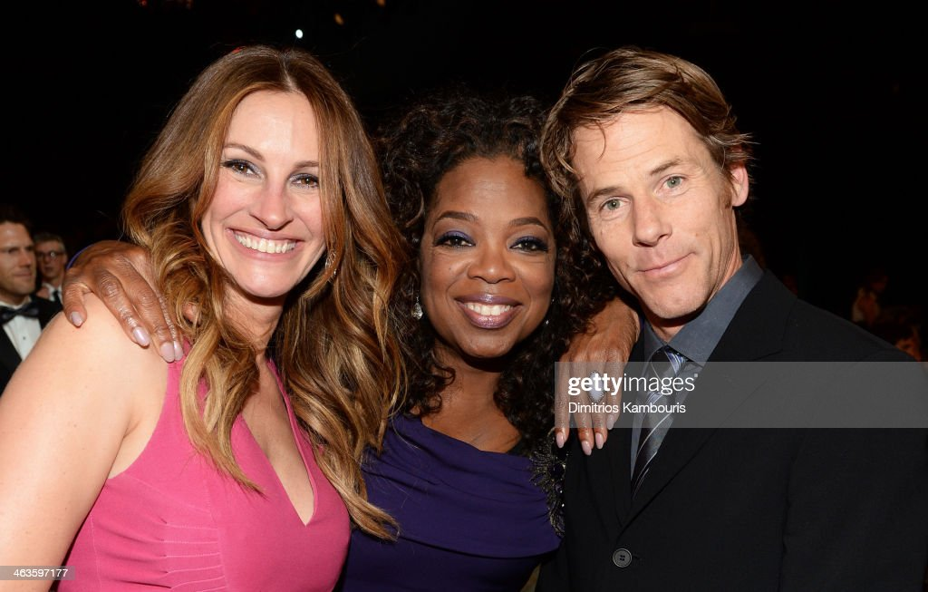 Actress Julia Roberts, Oprah Winfrey, And Danny Moder Attend The 20th  Annual Screen Actors