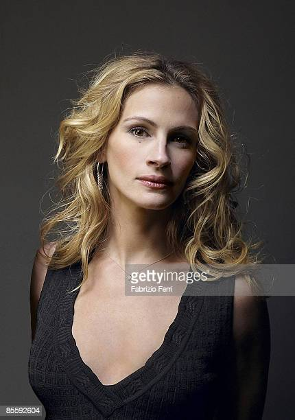 Actress Julia Roberts poses at a portrait session for Glamour Magazine