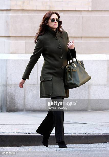 Actress Julia Roberts sighting March 3, 2008 in New York City.