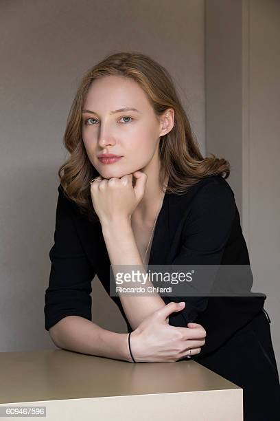 Actress Julia Roy is photographed for Self Assignment on September 7 2016 in Venice Italy