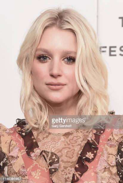 Actress Julia Schlaepfer attends a screening of 'Charlie Says' during the 2019 Tribeca Film Festival at Village East Cinema on May 01 2019 in New...