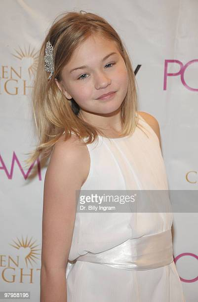 Actress Julia Springer attends the POSHGLAMCOM to benefit children of the night at the Celebrity Vault on March 22 2010 in Beverly Hills California