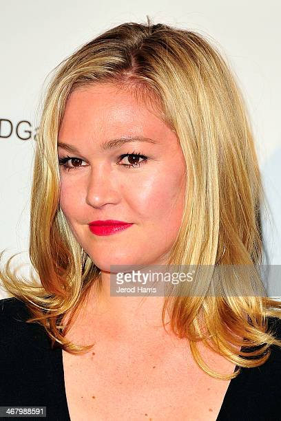 Actress Julia Stiles arrives at the 18th Annual Art Directors Guild Excellence in Production Design Awards at The Beverly Hilton Hotel on February 8...