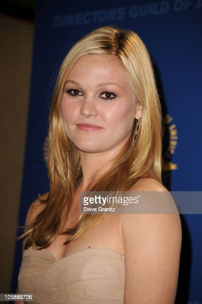 Actress Julia Stiles arrives at the 63rd Annual DGA Awards held at the Grand Ballroom at Hollywood Highland Center on January 29 2011 in Hollywood...
