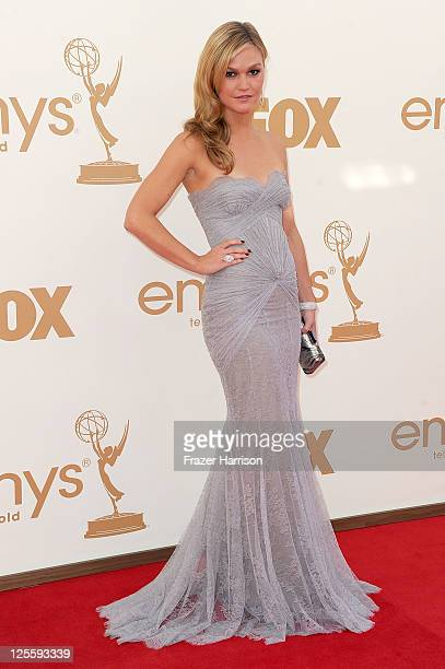 Actress Julia Stiles arrives at the 63rd Annual Primetime Emmy Awards held at Nokia Theatre LA LIVE on September 18 2011 in Los Angeles California