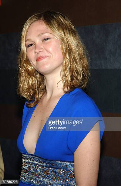Actress Julia Stiles arrives at The Atlantic Theater Company's 2005 Spring Gala at the Rainbow Room on May 2 2005 in New York City